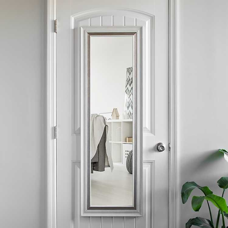 How To Hang A Long Mirror On A Door