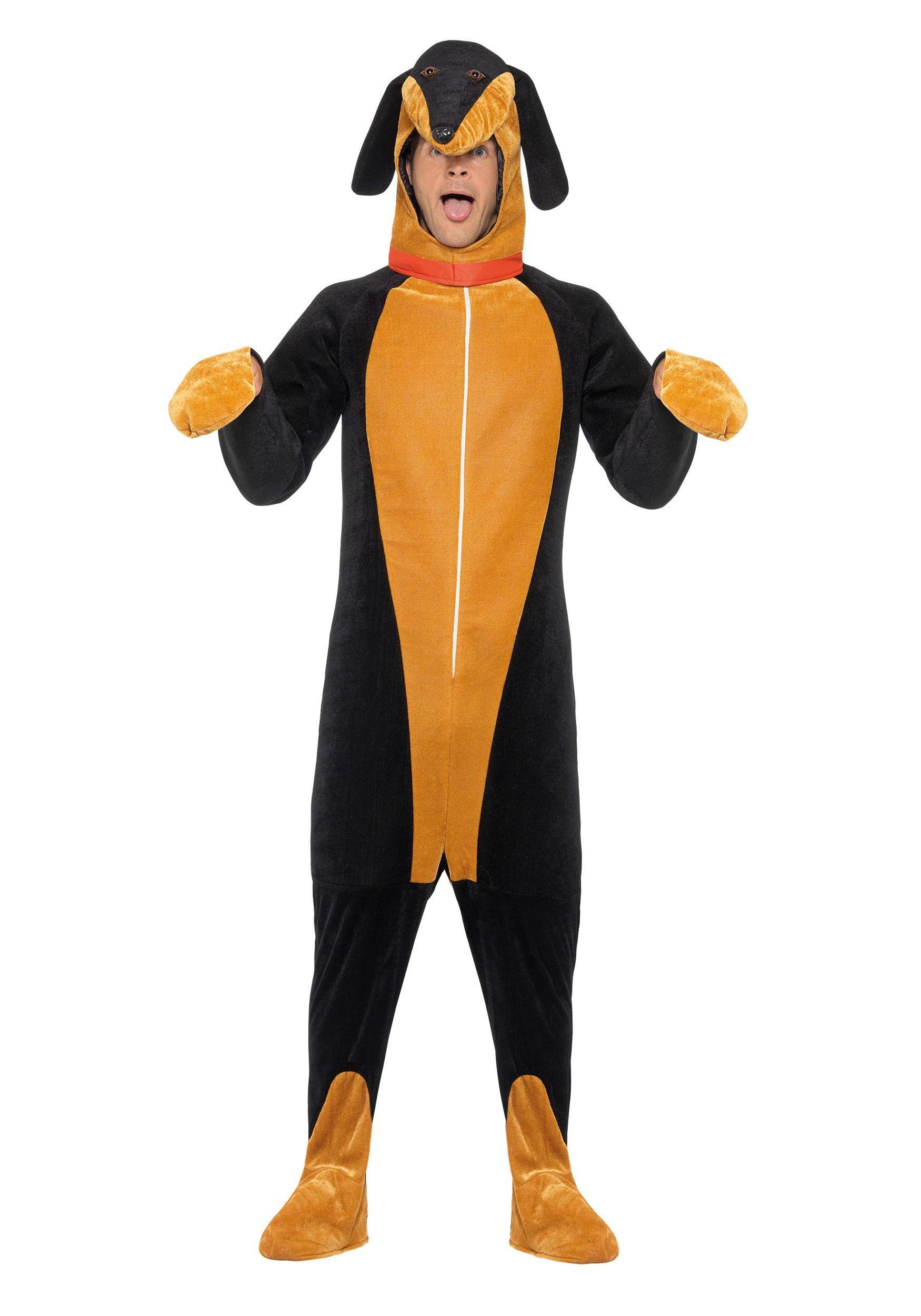 Adult Dachshund Costume Dachshund Costume Dog Costumes For Kids