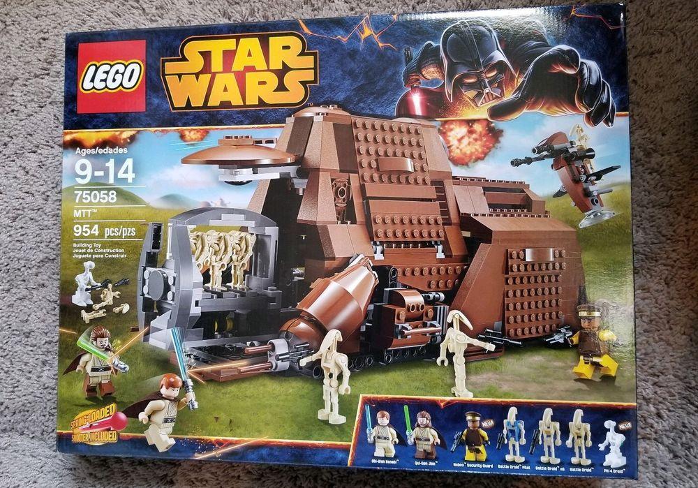 LEGO Star Wars Trade Federation Multi Troop Transport (75058