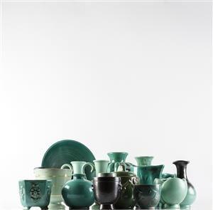 Vare: 4346003Upsala Ekeby m.fl, samling keramik, 30/40/50-tal (15)