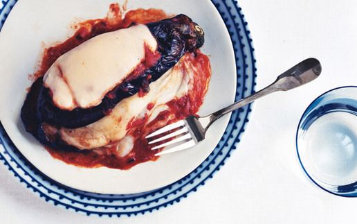 Grilled Eggplant Parmigiana. #Cooking #Recipes