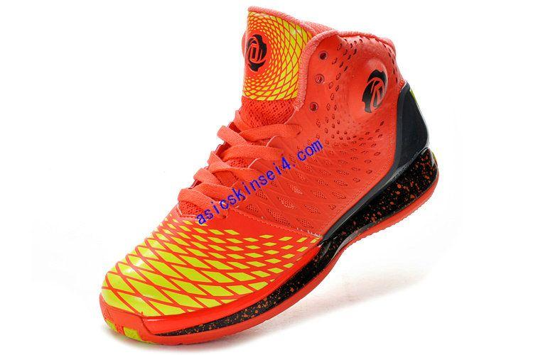 100% authentic b9458 46cf4 Adizero Rose 3.5 Adidas Max Orange Yellow G48898 Derrick Rose Shoes 2013  A 65.87