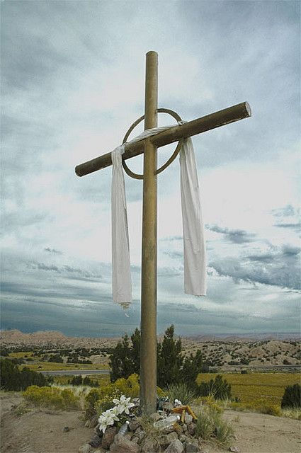 Cross In Chimayo Area Jesus Jesus Christ Old Rugged Cross