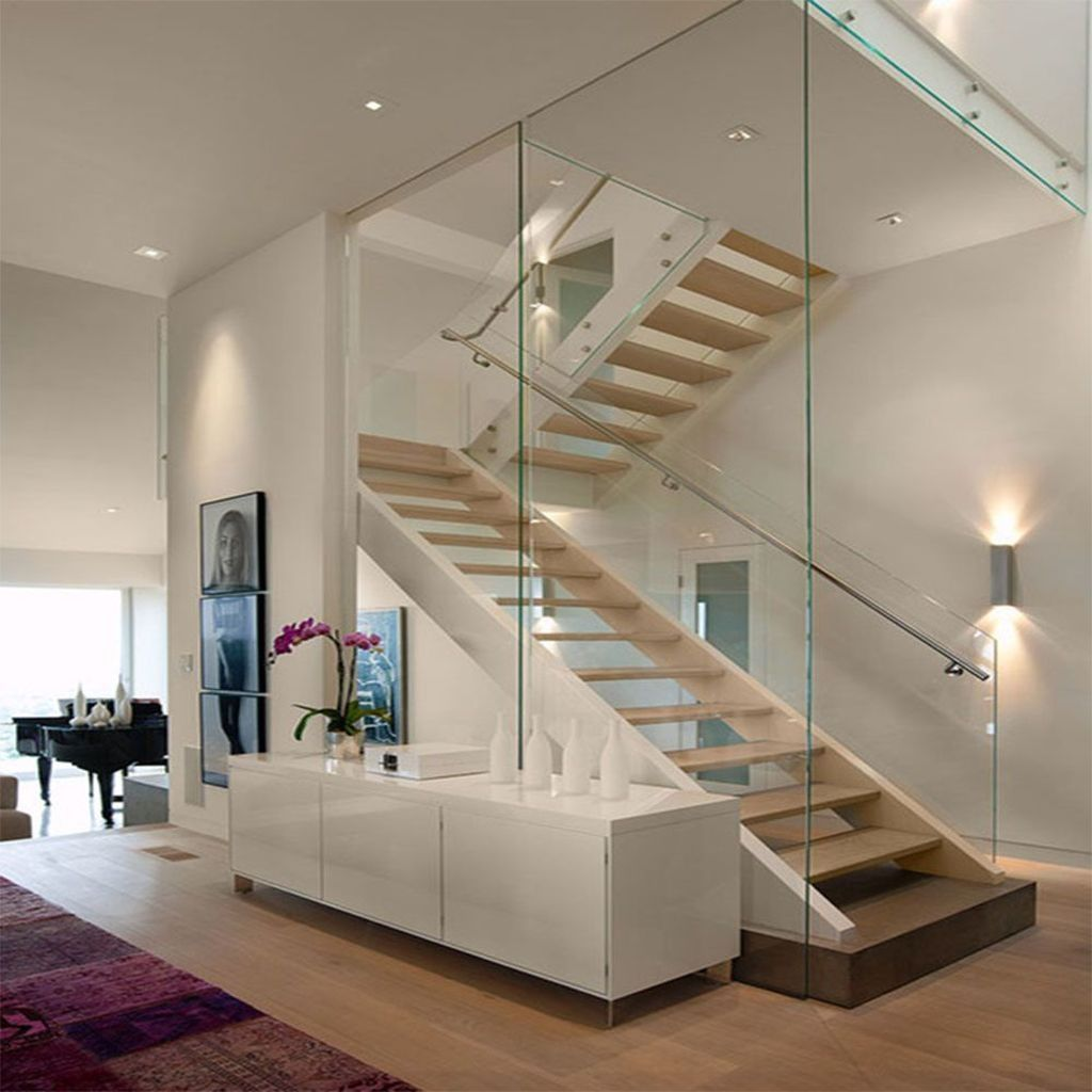 40 Trending Modern Staircase Design Ideas And Stair Handrails: 30+ Unordinary Floating Stairs For Your Decoration This