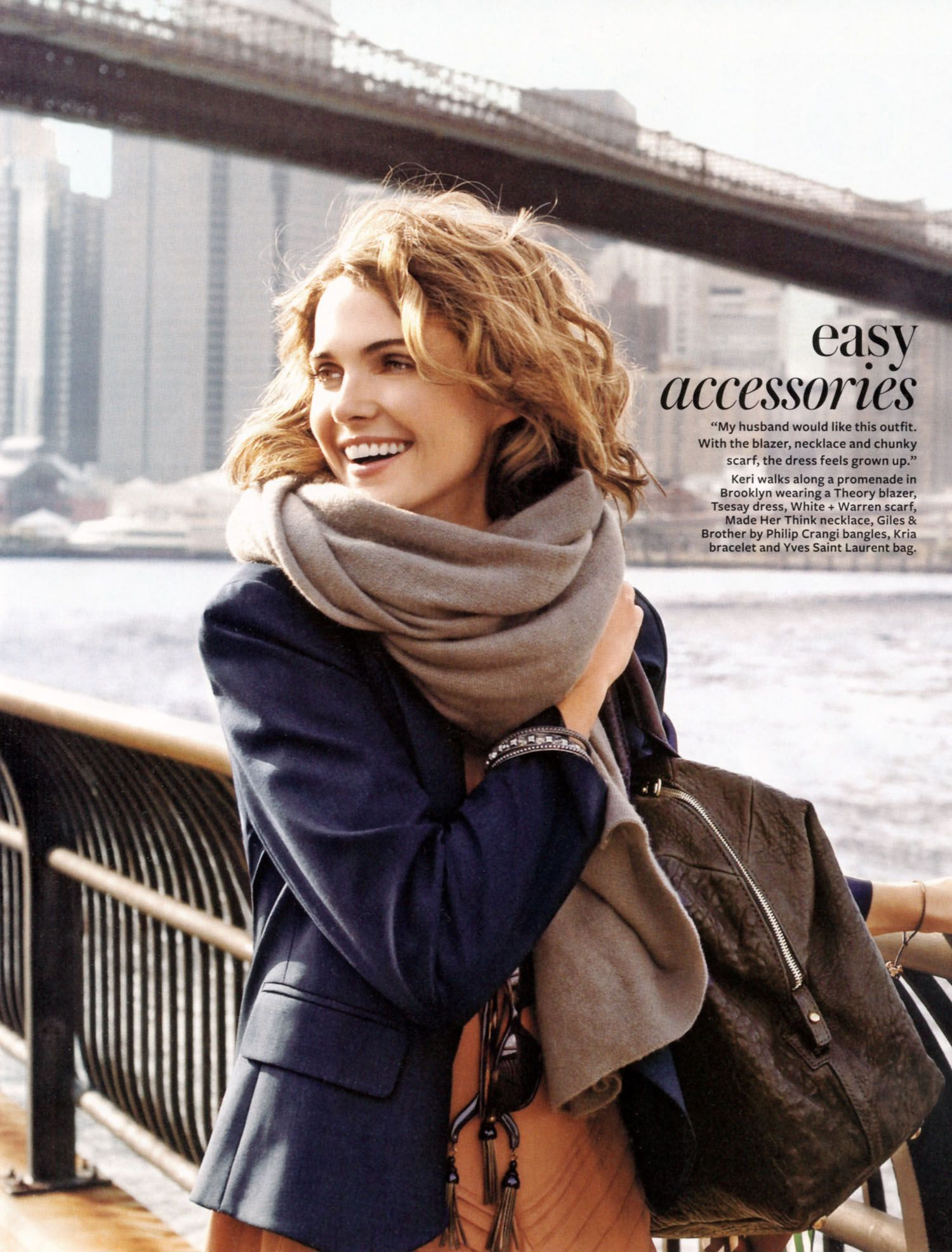 Instyle Magazine January, 2009 – Keri Russell In Motion