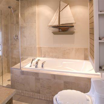 encastrer un bain dans un podium maison future pinterest salle de bain salle et douche. Black Bedroom Furniture Sets. Home Design Ideas