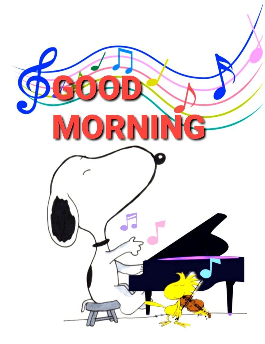 Bilder morgen snoopy guten 57+ Snoopy