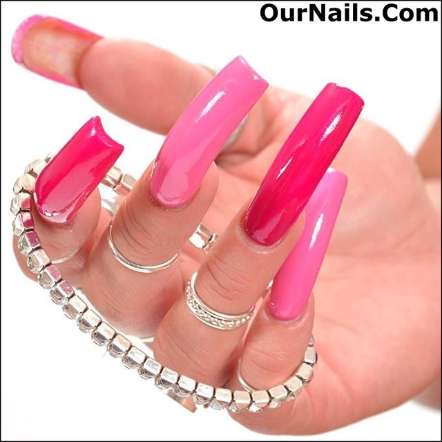A picture of my nails from a custom photo shoot I did for one of our viewers from OurNails.Com!  I love having two different colors on my nails!  So fun!! . If you enjoy looking at pictures of nails please visit www.OurNails.com to see more! . #nails #longnails #nailswag #naillife #notd #nailsoftheday #prettynails #frenchmanicure #feet #nailfetish #claws #longtoenails #sexynails #nailselfie #nailstagram #nailsofinstagram #nails2inspire #nailart #nailsdone #nailslove #ilovenails…