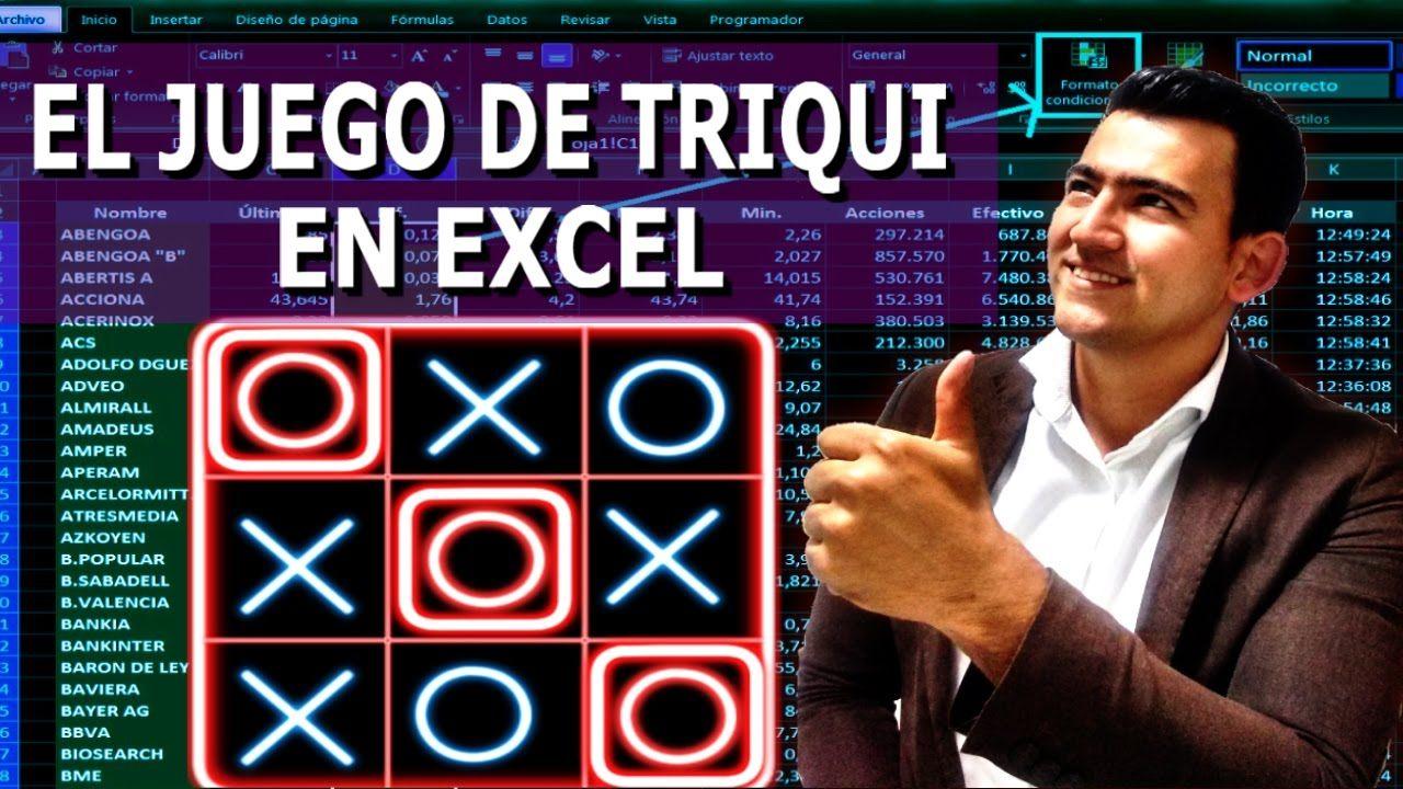 Pin En Juegos En Excel