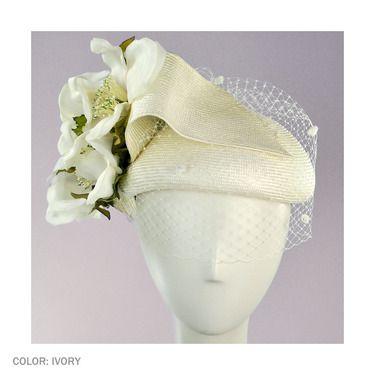 Kathy Jeanne Magnolia Fascinator (Ivory). $ 150