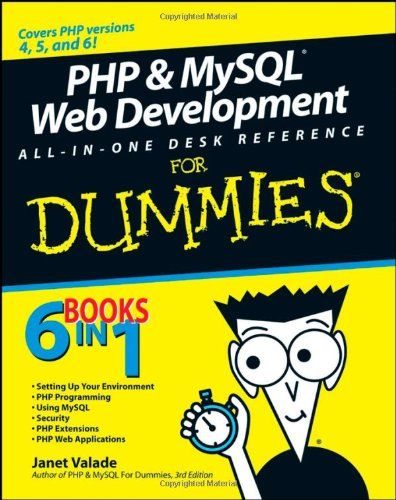 PHP  MySQL Web Development All-in-One Desk Reference For Dummies