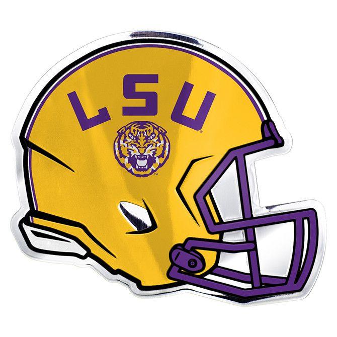 Lsu Tigers Helmet Emblem Free Shipping Ncaa New Lsu Helmet Lsu Lsu Tigers