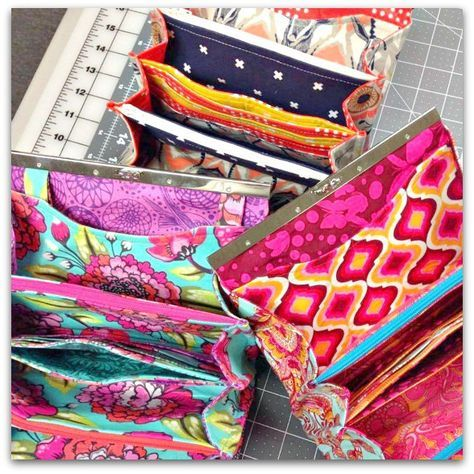 The Prima Diva Clutch Wallet - PDF Sewing Pattern | sew it ...