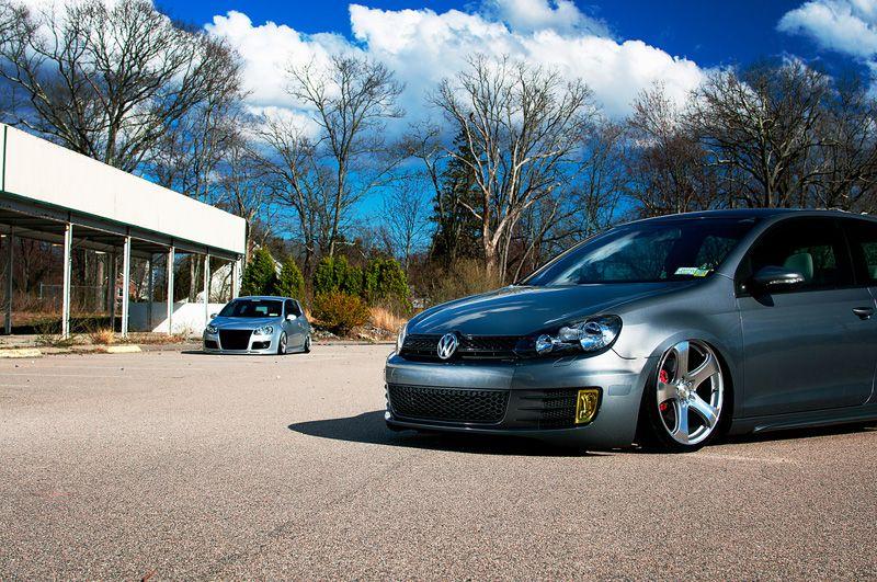 Hellaflush VW Golf