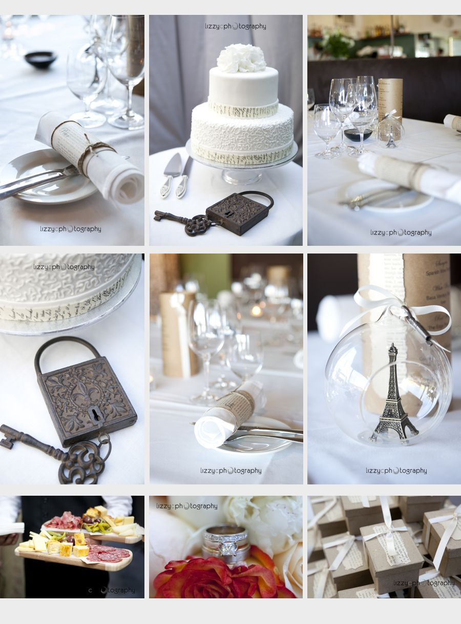 Paris Themed Weddings