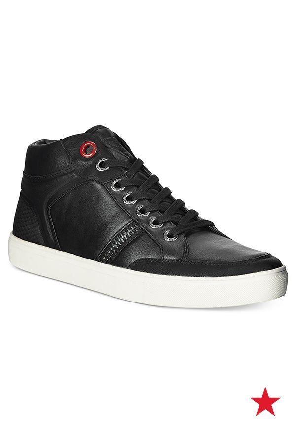 GUESS Topeka Hi Top Sneakers All Men s Shoes Men Macy s