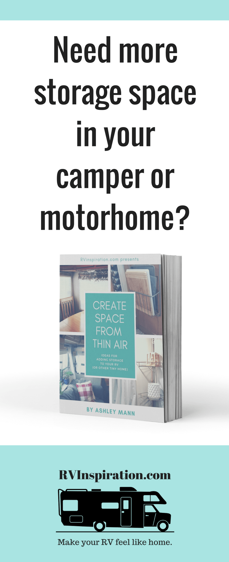 60 Ideas For Adding Storage To Your Camper Motorhome Or Tiny Home
