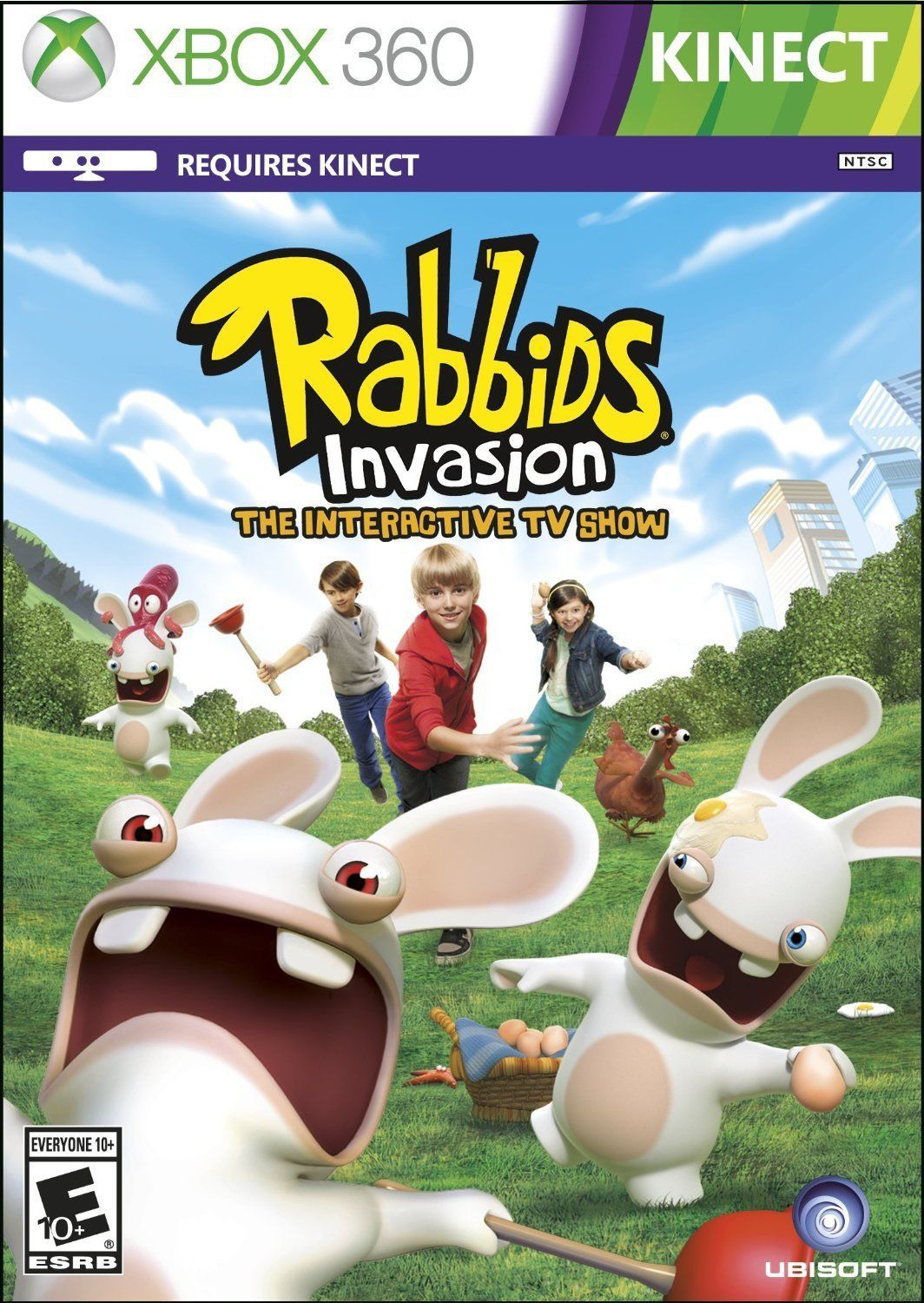 XBOX 360  Rabbids Invasion Game BRAND NEW SEALED https://t.co/H1hQTptshl https://t.co/8AhRQL56CE