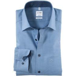 Photo of Olymp Tendenz shirt, modern fit, New Kent, Royal, 39 Olymp