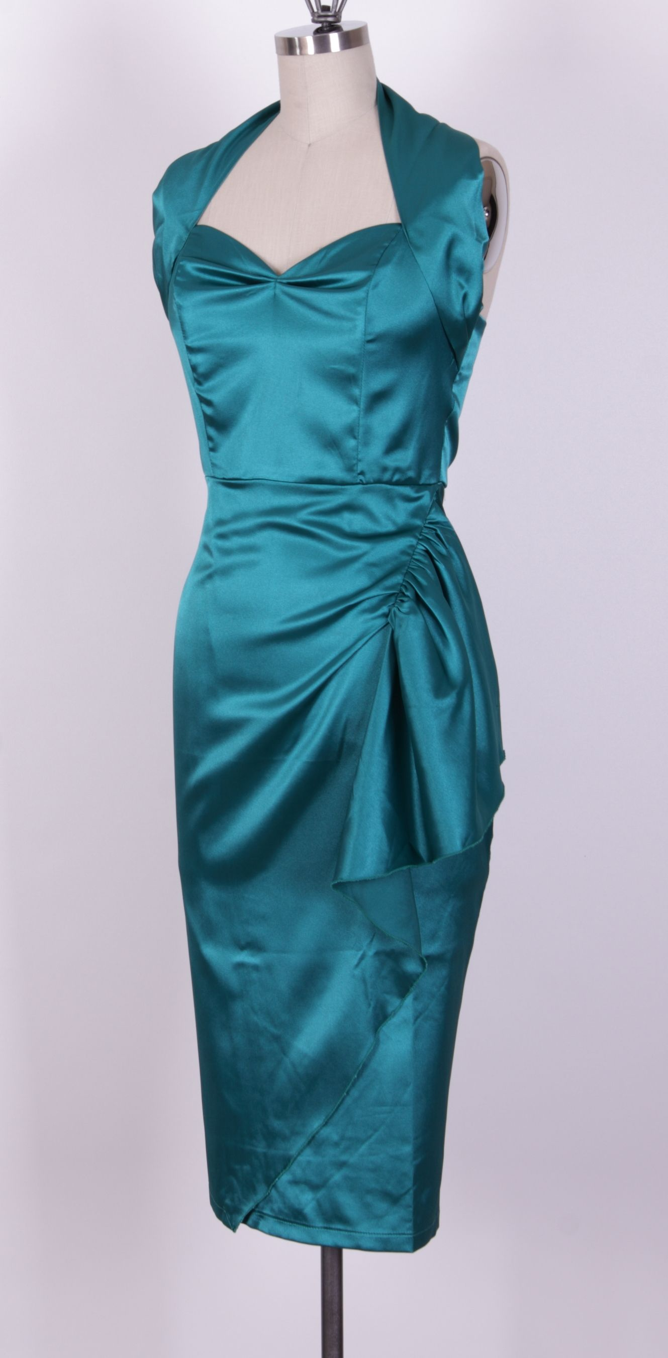black and teal bridesmaid dresses | 1950s Dresses : Queen of ...