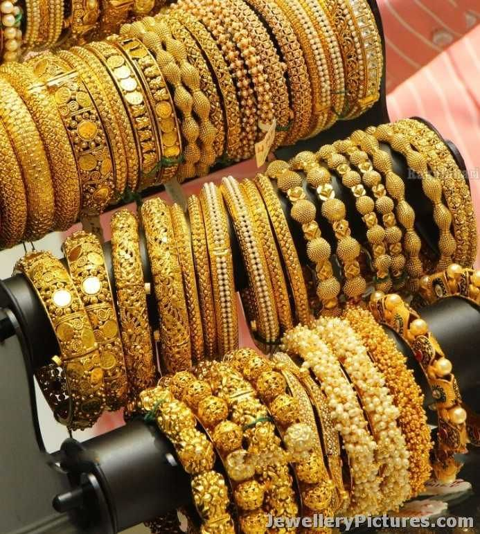 gold bangles designs catalogue jewellery pinterest