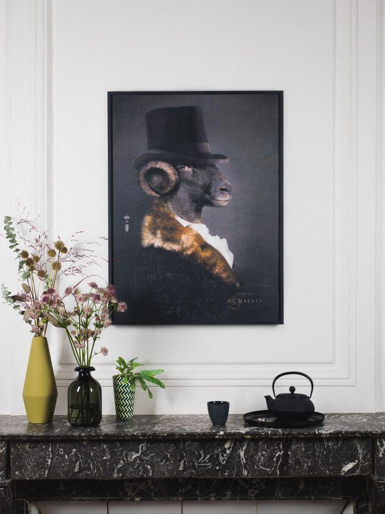 Comment Habiller Un Mur Interieur mlle de maupin - limited print series of emblematic images