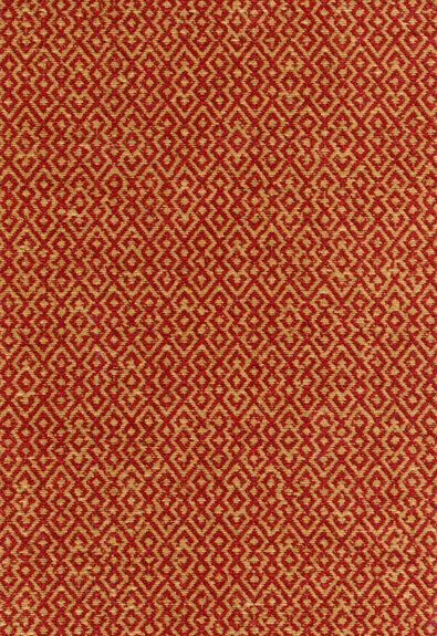 Fabric Mayan Texture In Pomegranate Schumacher