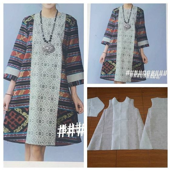 Model Baju Batik Zaskia Mecca: Model Baju Batik Gamis Di 2019