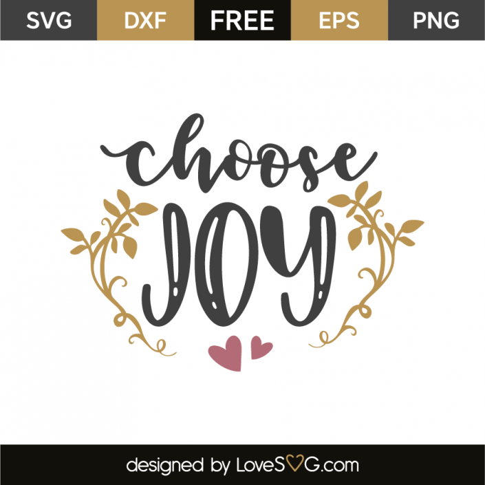 Download Choose joy | Cricut | Choose joy, Cricut craft room, Free ...