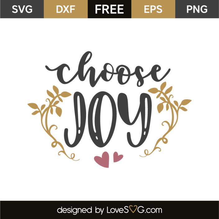 Download Choose joy | Cricut | Choose joy, Cricut craft room, Free ...