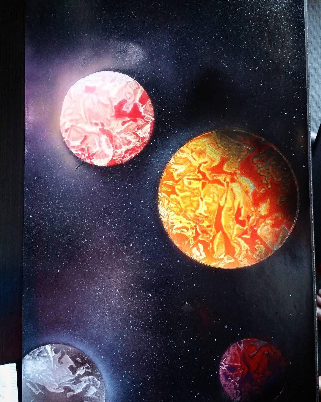 Gmail planets theme - Provocative Planet Pics Please Tumblr Com Spray Paint Art I Did