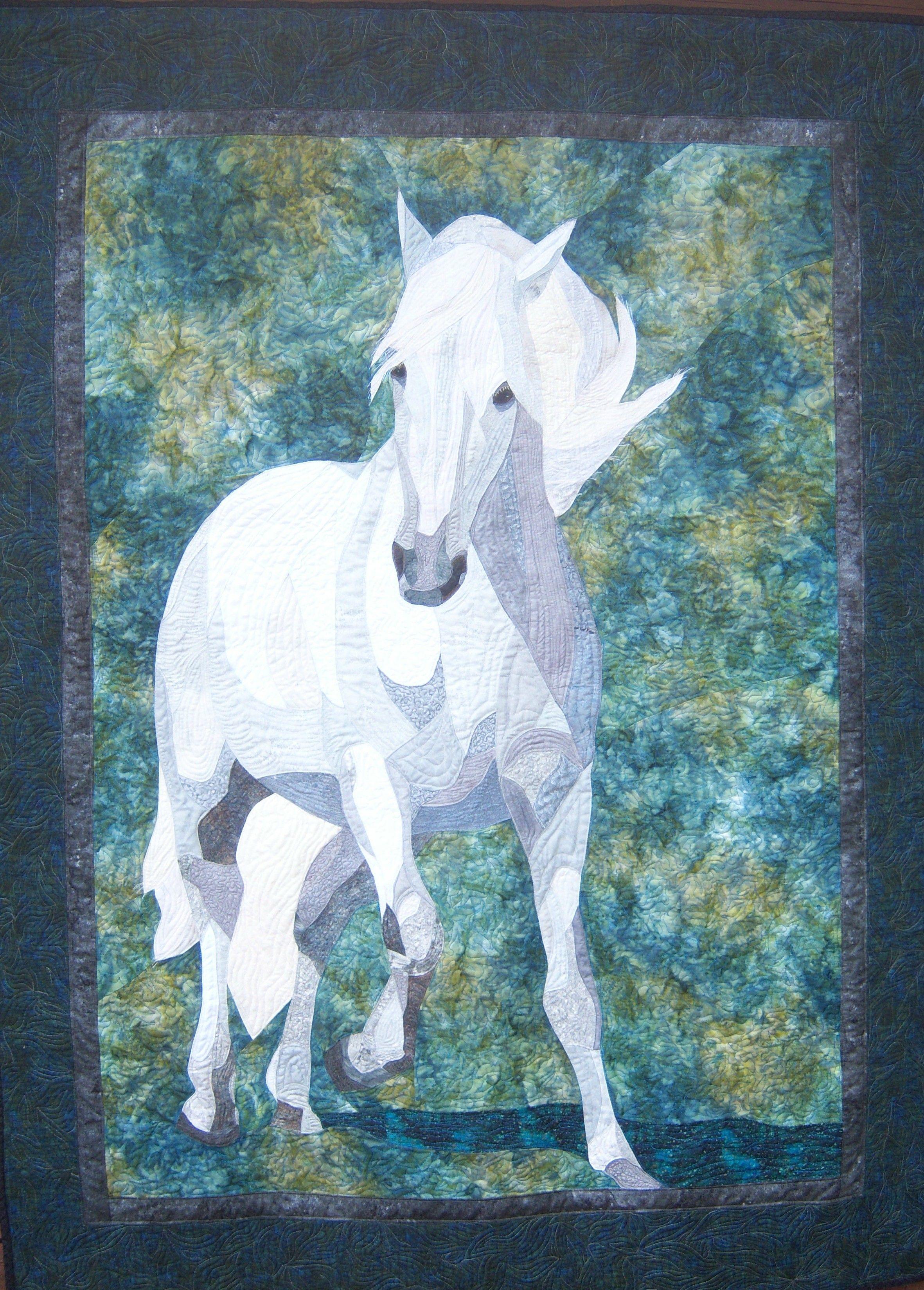 Horse Applique Quilt Patterns