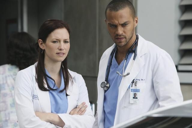 lexie and jackson <3 Lexie is better with mark of course but her and Jackson are a pretty couple
