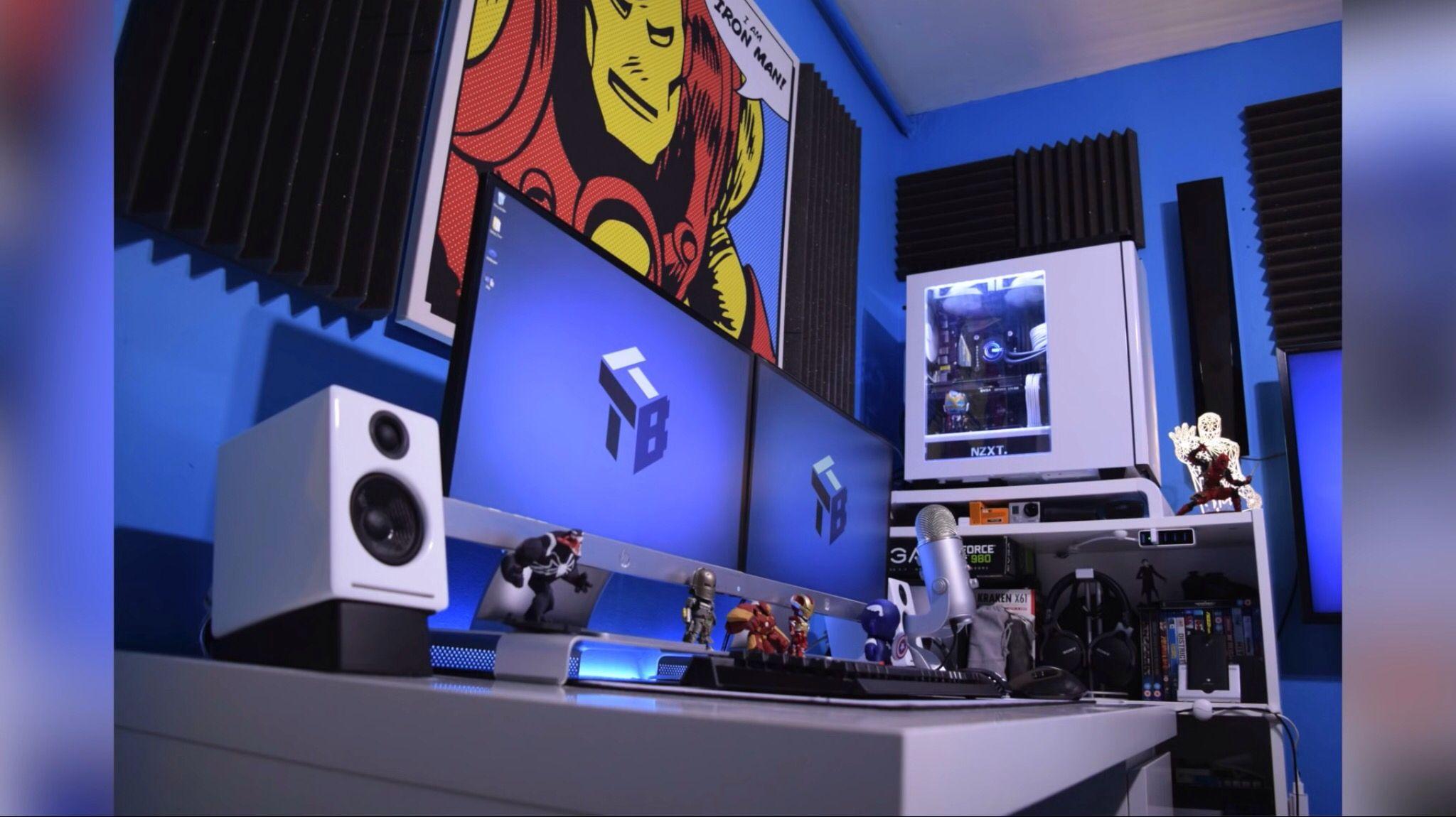 Gamingyoutube Superhero Theme Setup