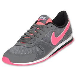 new concept dee2b 4e01c The Nike Eclipse II Women s Casual Shoe has an old-school running design  with fresh colors that make this sneaker pop. Features a leather and mesh  upper, ...