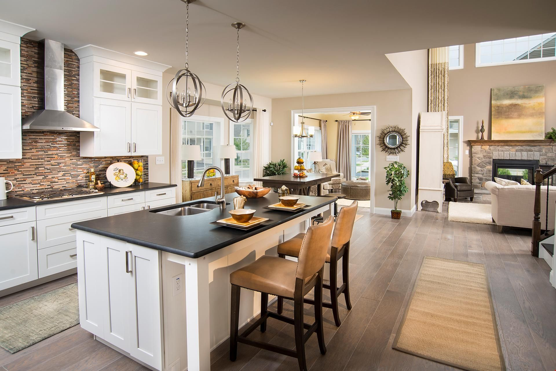 What's your favorite design touch in this kitchen? A new