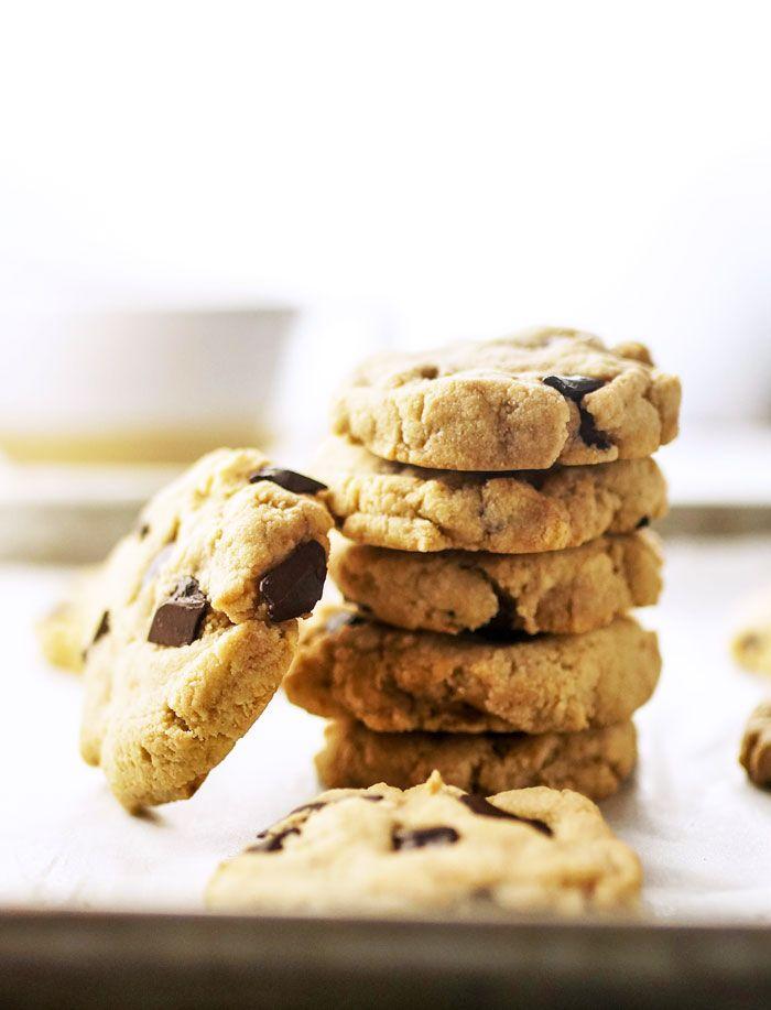 Almond Flour Cookies With No Eggs Detoxinista Recipe Almond Flour Chocolate Chip Cookies Almond Recipes Cookies Recipes Chocolate Chip