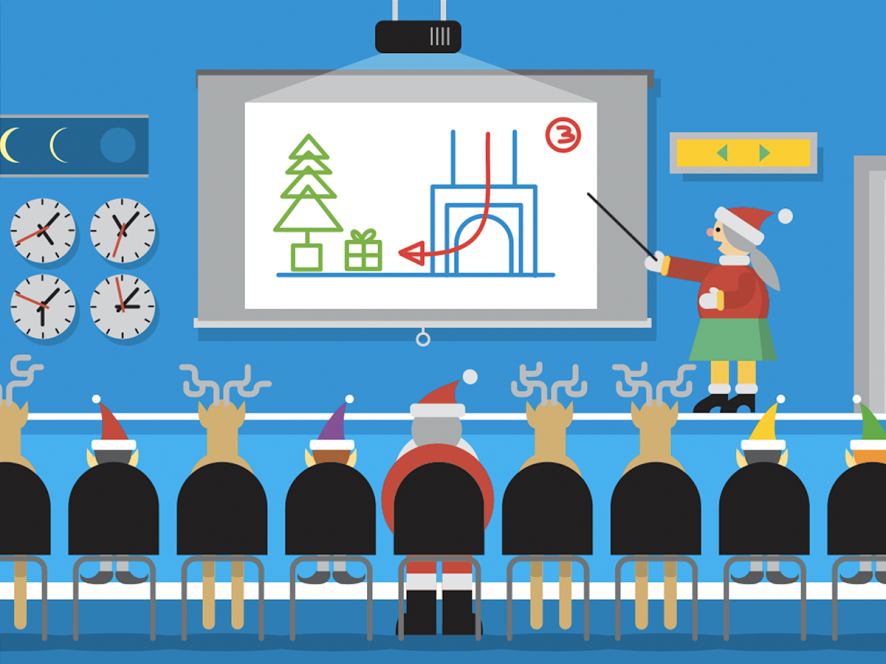 Google Maps Santa Tracking Briefing From Mrs Clause