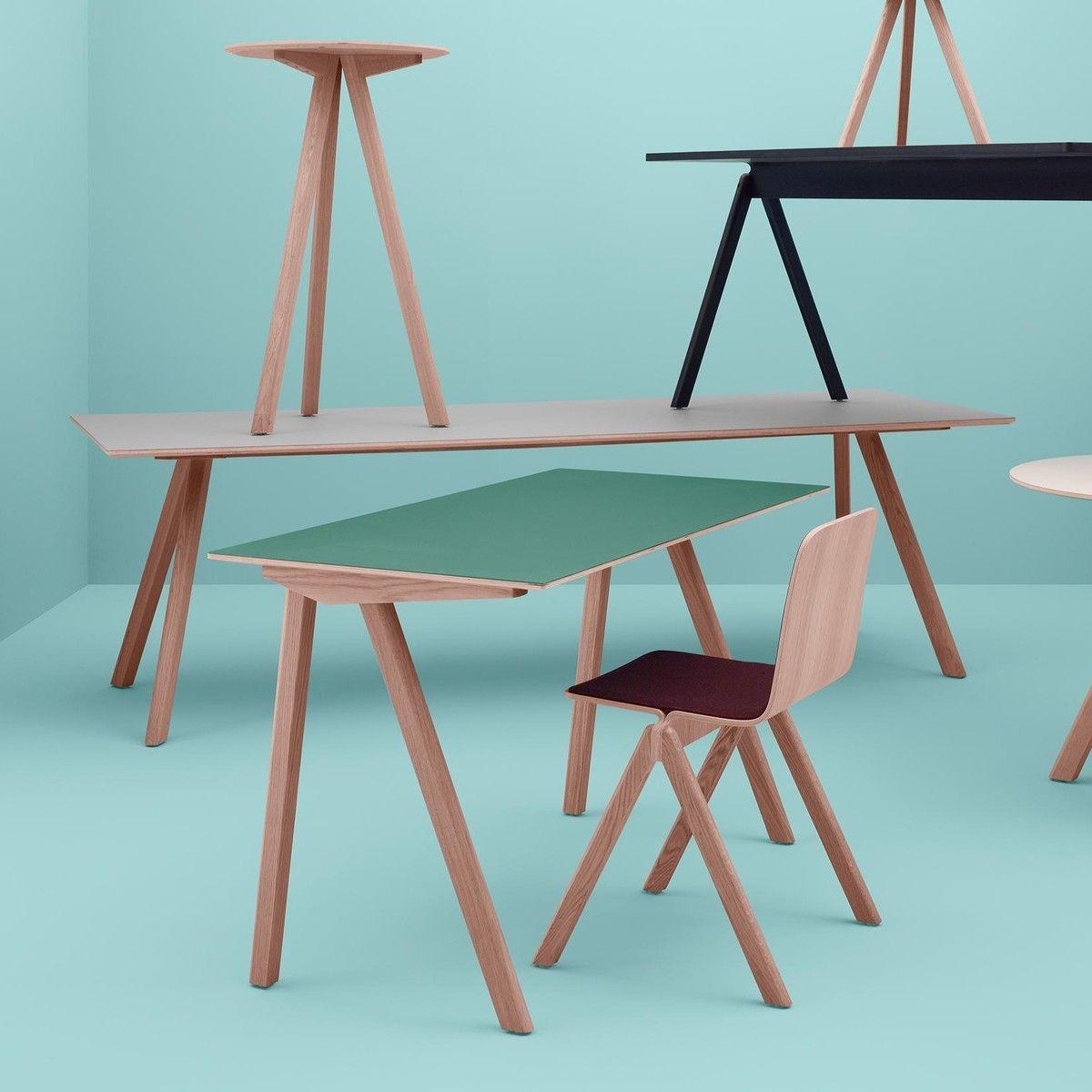 HAY - Copenhague CPH30 Dining Table | Al Folding Chair | Pinterest ...
