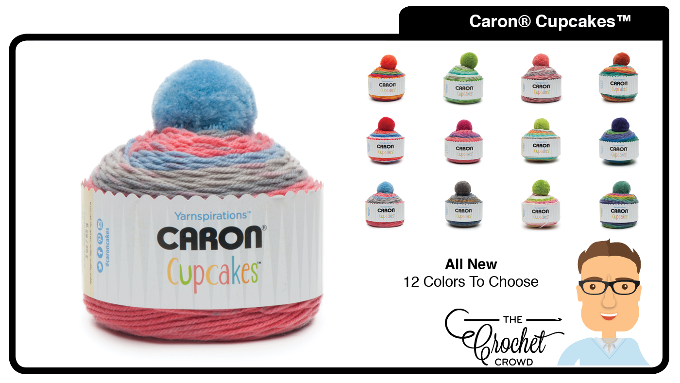 What To Do With Caron Cupcakes Yarn Caron Cupcakes are 100% Acrylic and are  designed for smaller projects. Packaged as f1bfe13c84b