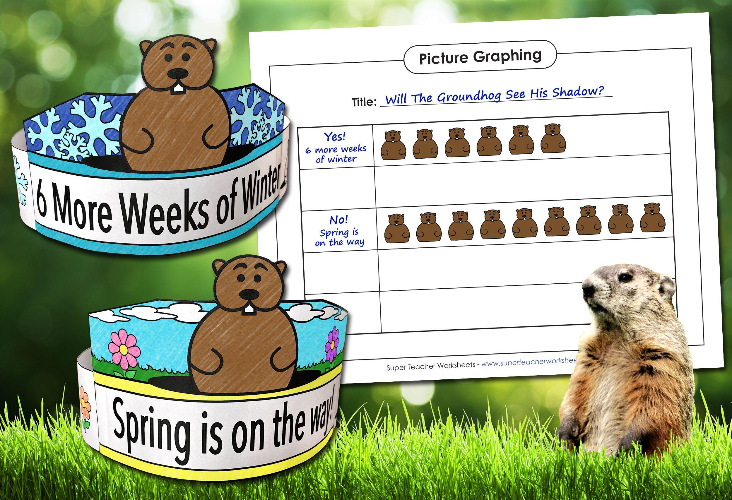 Groundhog Day In 2021 Groundhog Day Super Teacher Worksheets Reading Comprehension Activities