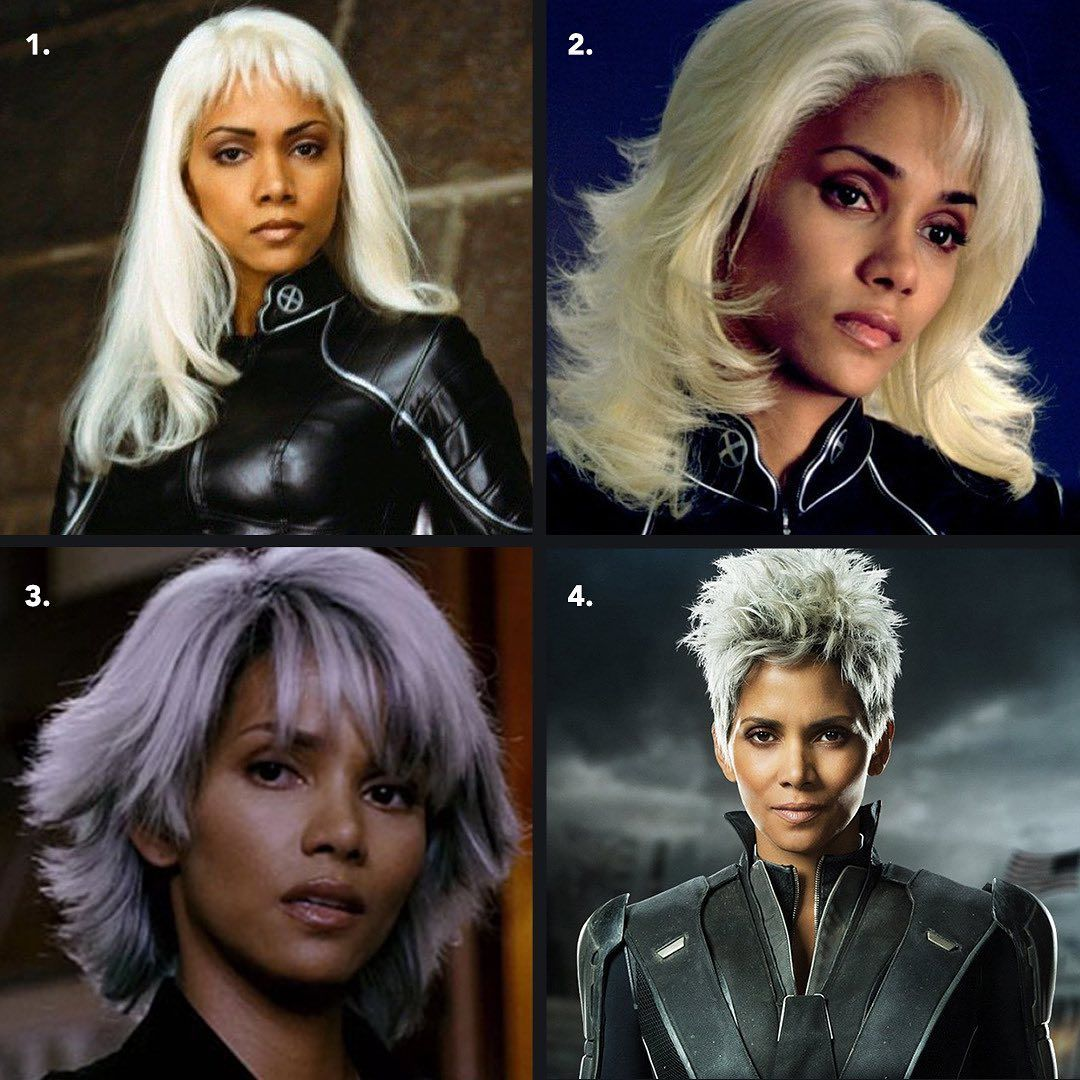 34 6k Likes 3 129 Comments Halle Berry Halleberry On Instagram Wigwars Which Storm Look Truly Snatched X Halle Berry Halle Berry Storm Halle
