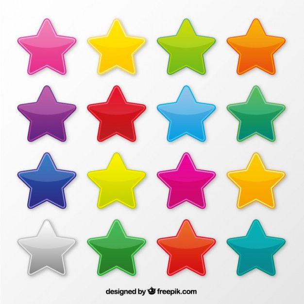 Download Colorful Star Icons For Free Kids Church Activities Creative Activities For Kids Vector Free