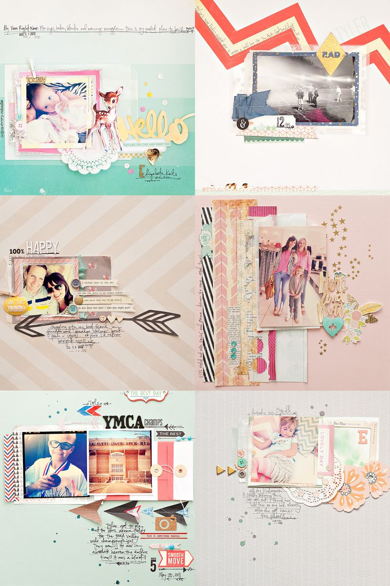 Scrapbook ideas goodbye - More Changes A Sad Goodbye Maggie Holmes Scrapbook Layouts