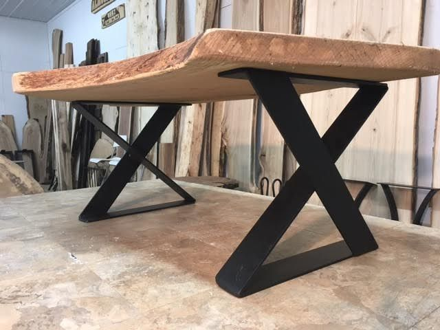 Ohiowoodlands Coffee Table Base Steel Legs