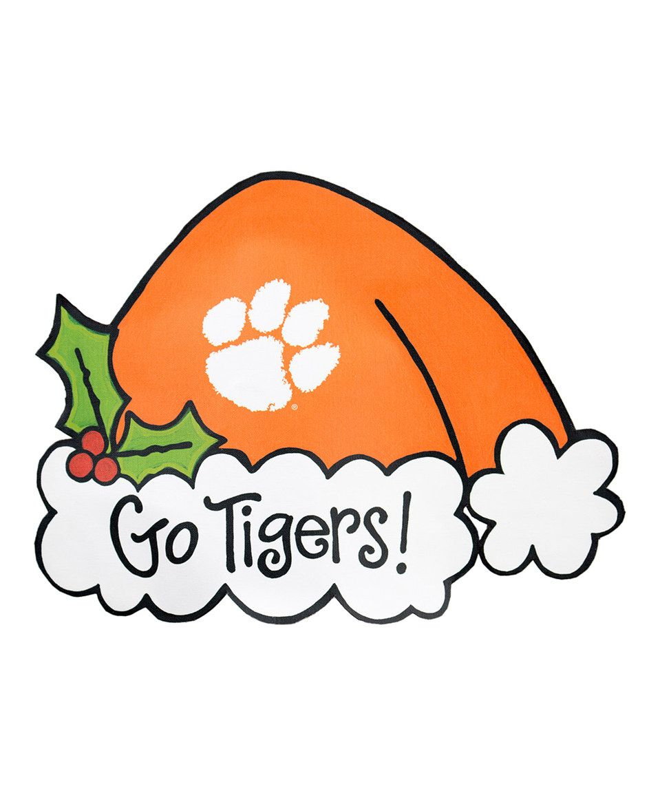 Clemson Christmas Tree: Clemson Tigers, Tree Toppers