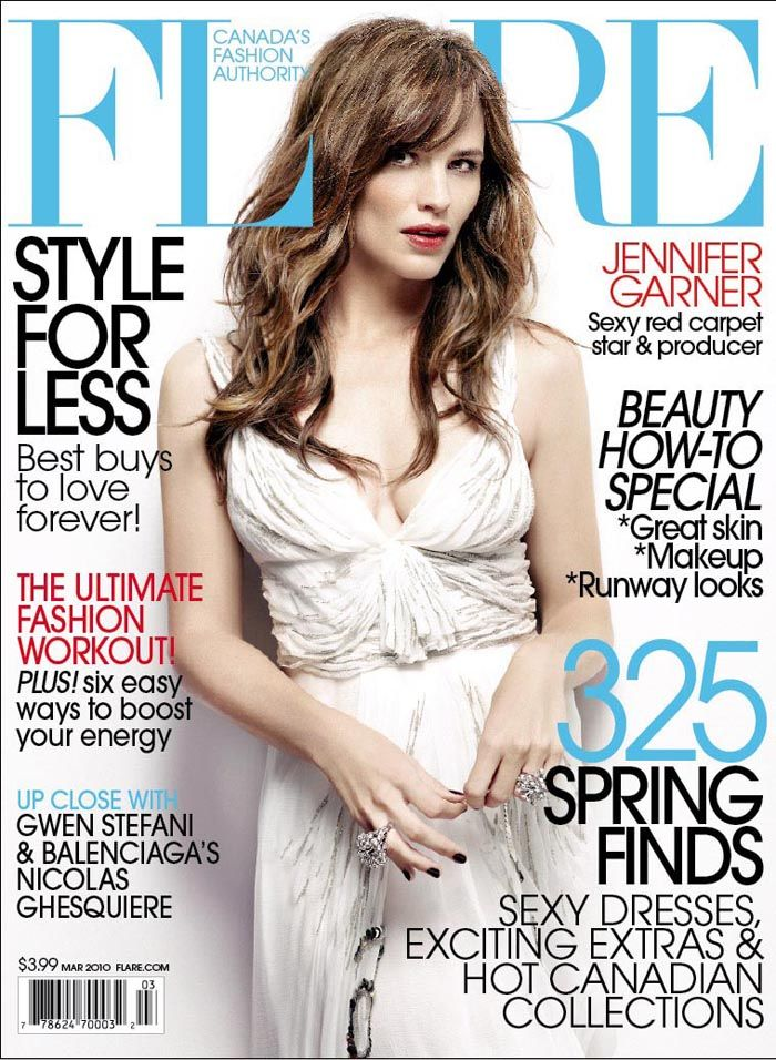 Jennifer Garner March 2010 Canadian Flare Magazine