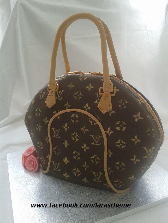 Lv Handbag Cake Louis Vuitton Made By Larasthemecakes Co Uk
