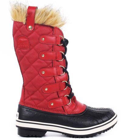 7dced287386 Après-ski femme - rouge noir - SOREL