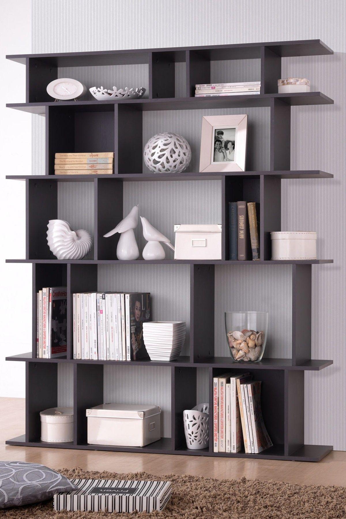 Tilson Dark Brown Bookshelf On HauteLook